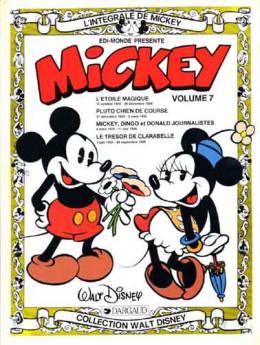 Mickey (L'intégrale de) tome 7 - Volume 7 (octobre 1934 - septembre 1935) (éd. 1983)
