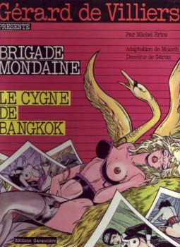 Brigade mondaine tome 3 - Le Cygne de Bangkok (éd. 1983)