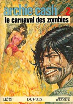Archie Cash tome 2 - Le carnaval des zombies (éd. 1974)