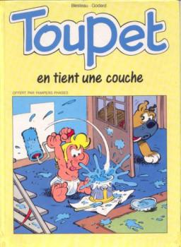 Toupet - Toupet en tient une couche (éd. 1992)