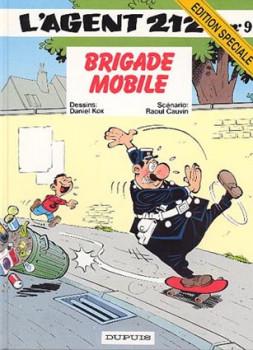 Agent 212 (L') tome 9 - Brigade mobile (éd. 1996)