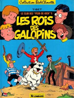 """Club des """"Peur-de-rien"""" (Le) tome 1 - Les rois des galopins (éd. 1985)"""