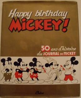 Happy birthday Mickey ! - 50 ans d'histoire du Journal de Mickey (éd. 1984)