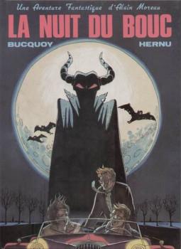 Alain Moreau tome 1 - La nuit du bouc (éd. 1986)