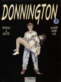 Donnington tome 3 - La mort dans l'île