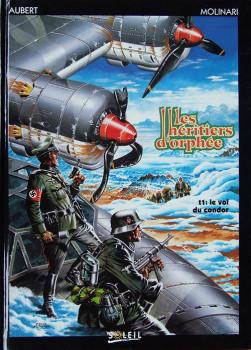 Héritiers d'Orphée (Les) tome 1 - Le vol du condor (éd. 1992)