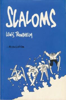 Lapinot (Les formidables aventures de) tome 2 - Slaloms (éd. 1993)