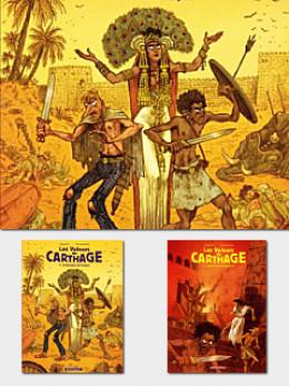 Les voleurs de Carthage tomes 1 et 2