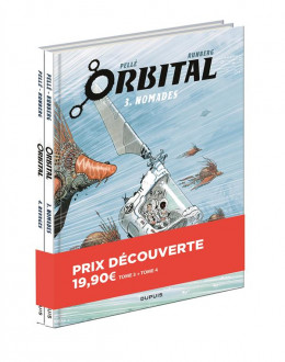 Pack découverte Orbital tomes 3 et 4