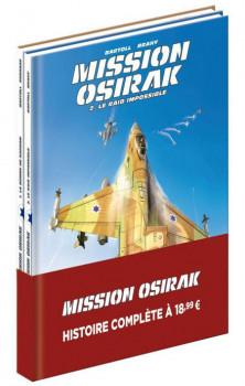 Mission Osirak - pack tomes 1 et 2