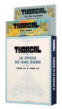 Thorgal - fourreau tomes 34 + 35 + ex-libris offert