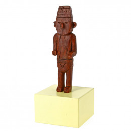 Figurine Tintin Fétiche Arumbaya