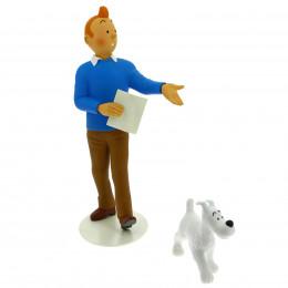 "Figurine Tintin et Milou collection ""Musée Imaginaire"""