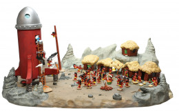 Le Cosmoschtroumpf et le Village Schlips