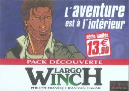 largo winch - pack découverte tome 1 à tome 2