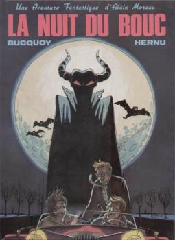 Alain Moreau tome 1 - La nuit du bouc (éd. 1984)