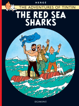 The adventures of Tintin tome 19 - the red sea sharks - tintin en anglais