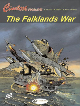 Cinebook recounts tome 2 - the falklands war - en anglais