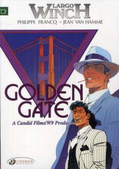 Largo Winch tome 7 - Golden Gate - en anglais