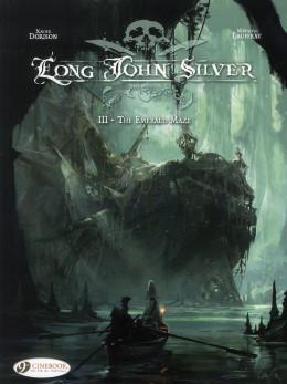 Long John Silver tome 3 - the emerald maze - en anglais