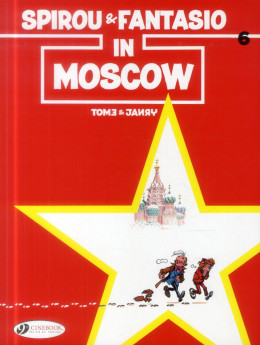 Spirou and fantasio tome 6 - moscow