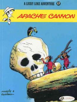 Lucky luke tome 17 - apache canyon (en anglais)