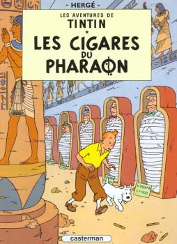 Tintin tome 4 - les cigares du pharaon