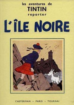 Tintin tome 7 - l'île noire (fac-similé N&B 1937-38)