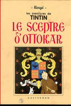 Tintin tome 8 - le sceptre d'ottokar (fac-similé N&B 1938-39)