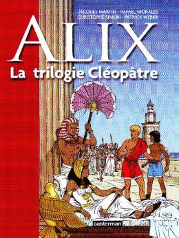 Alix - la trilogie cléopâtre (petit format)
