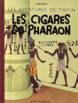 Tintin tome 4 - les cigares du pharaon (fac-similé N&B 1942)