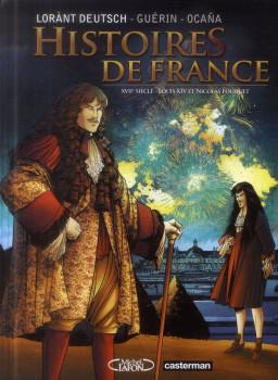 Histoires de france tome 2 - Louis XIV et Fouquet