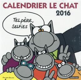 Le chat calendrier 2016