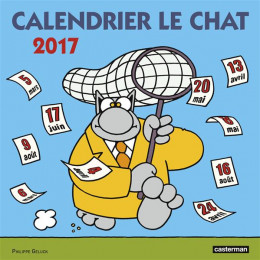 Le chat - calendrier 2017