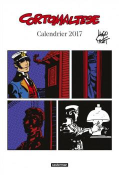 Corto Maltese calendrier 2017