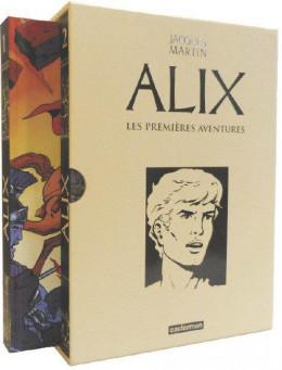 Alix - coffret recueils les premières aventures