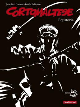 Corto Maltese tome 14 - Equatoria (n&b)