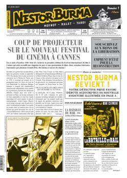 Nestor Burma - L'homme au sang bleu - journal tome 1