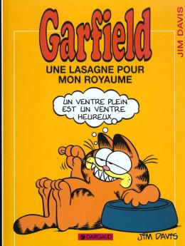 garfield tome 6 - une lasagne pour mon royaume