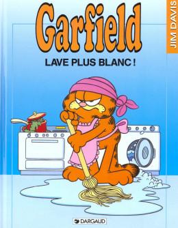 garfield tome 14 - garfield lave plus blanc