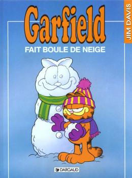 garfield tome 15 - garfield fait boule de neige