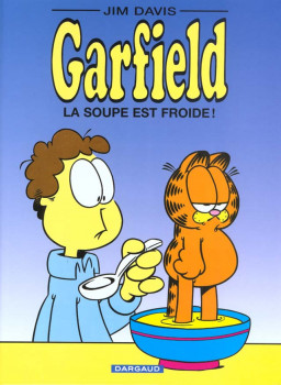 garfield tome 21 - la soupe est froide
