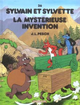 Sylvain et sylvette tome 36 - la mystérieuse invention