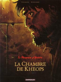 Le marquis d'anaon tome 5 - la chambre de khéops