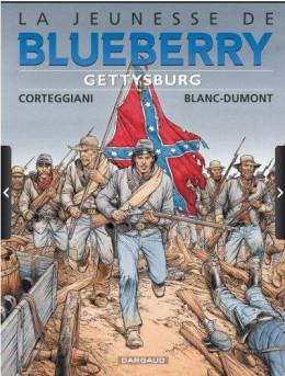 La jeunesse de blueberry tome 20 - Gettysburg