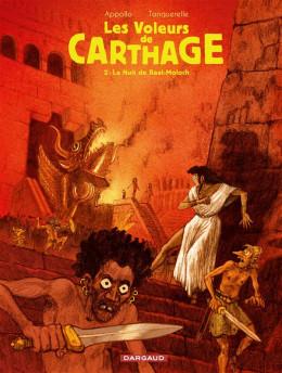 les voleurs de carthage tome 2 - la nuit de Baal-Moloch