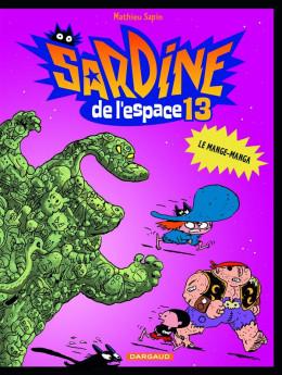 Sardine de l'espace tome 13 - le mange-manga
