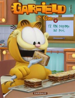 Garfield et cie tome 17 - un régime au poil