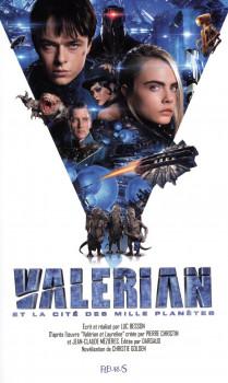 Roman du film Valérian et Laureline