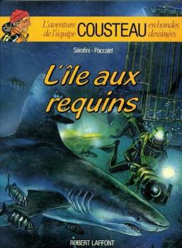 Cousteau tome 1 - l'île aux requins